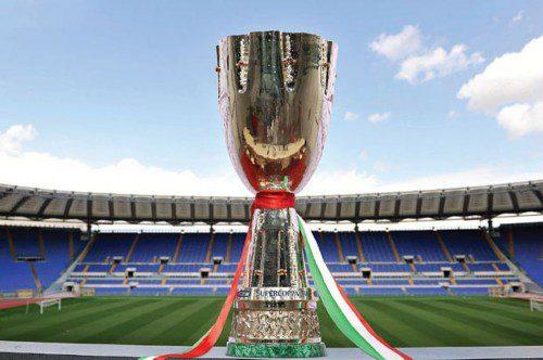 Supercoppa italiana stasera Juve-Lazio su Rai1