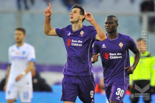 Fiorentina, Kalinic pensa in grande e sogna lo scudetto