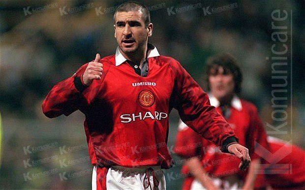 Football Legend Eric Cantona Sportpaper It