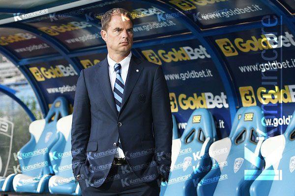 C.Palace, de Boer non teme l'esonero: