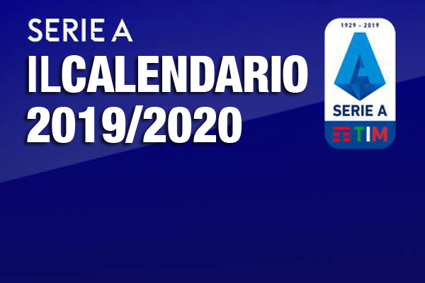 Serie A 2020 Calendario.Serie A Il Calendario 2019 2020 Download