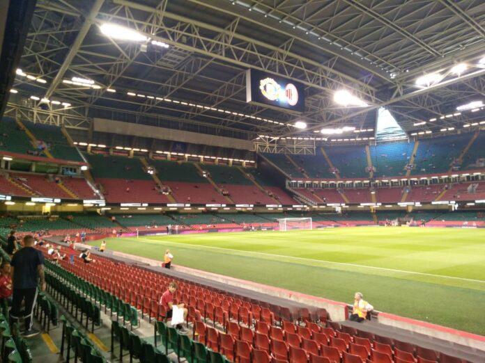 Manchester United-Milan, Principality Stadium