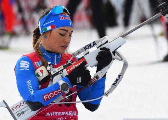 Biathlon Wierer Oro Mondiali