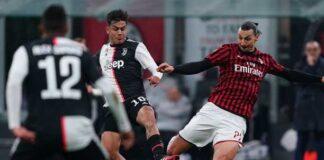 Milan Juventus Tabellino Highlights