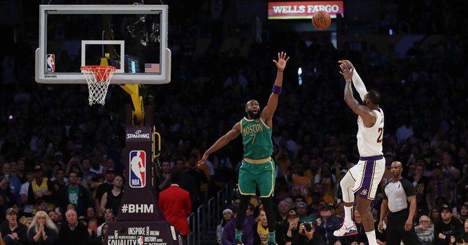 NBA Risultati Lakers Celtics