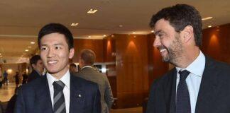 Juventus Inter Agnelli Zhang
