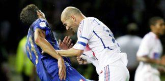 Materazzi testata Zidane