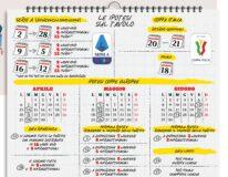 Serie A nuovi calendari