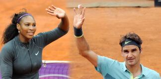 Serena Williams Federer Wimbledon