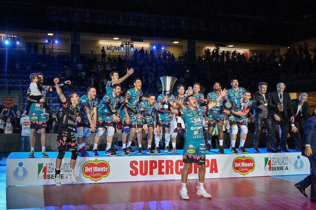 Positivo Atanasijevic, della Sir Perugia Volley