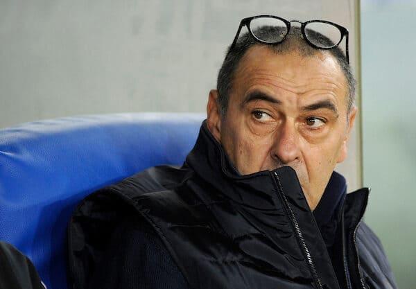 Maurizio Sarri Juventus Lione