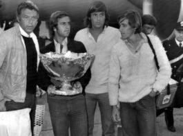 Adriano Panatta Coppa Davis 1976