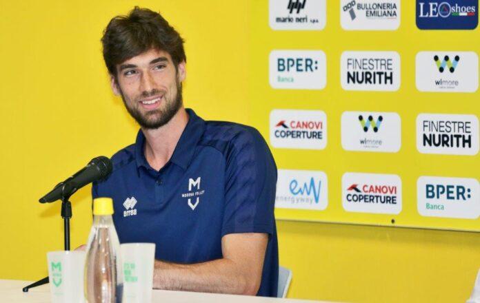 Presentazione Luca Vettori Modenavolley