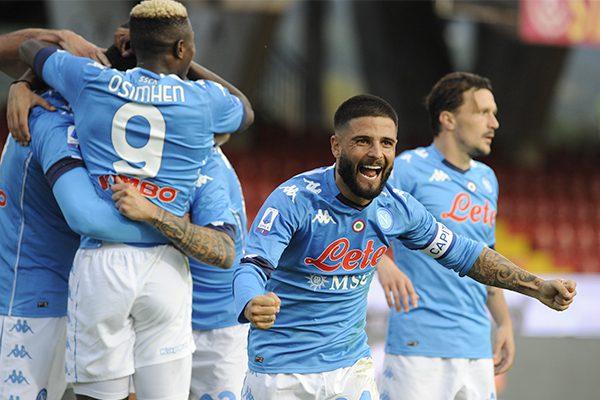Cagliari Napoli Highlights
