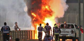 Grosjean incidente