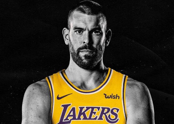 Prime parole Marc Gasol Lakers