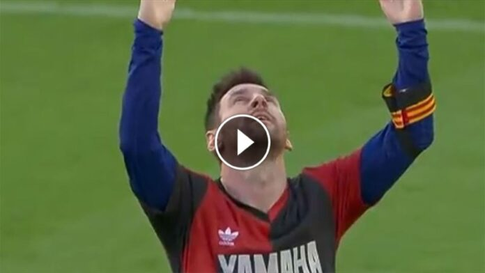 Messi dedica Maradona
