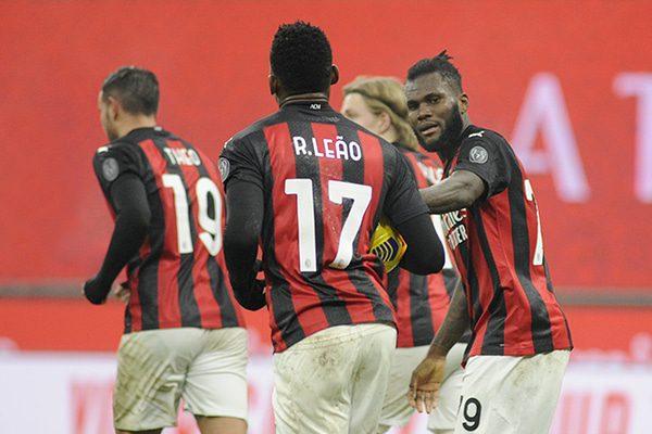 Esultanza Spezia Milan