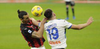 Milan Atalanta risultato tabellino highlights
