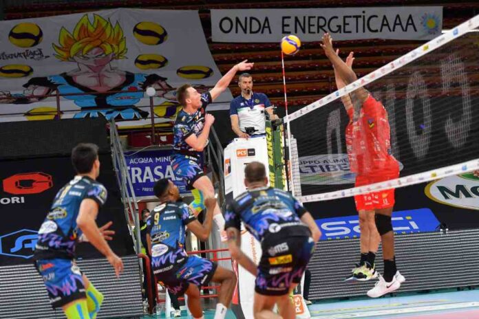 Sir Safery Conad Perugia vs Cucine Lube Civitanova