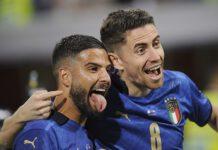 Esultanza Italia